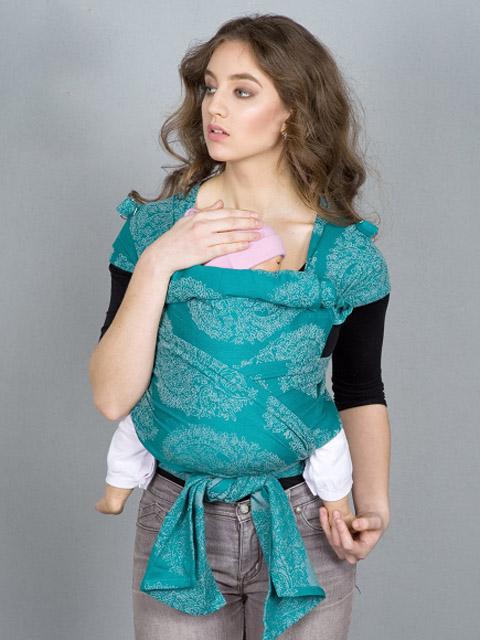 Слинг эрго рюкзак, Май-слинг Diva Essenza Smeraldo, image 1