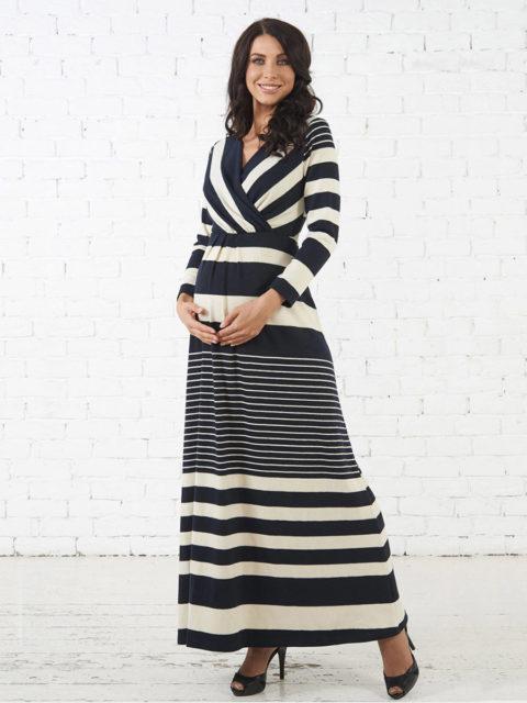 4bc1ecbe19b7 5 900 ₽  Платье для беременных и кормящих мам Масерата B1645 image 1