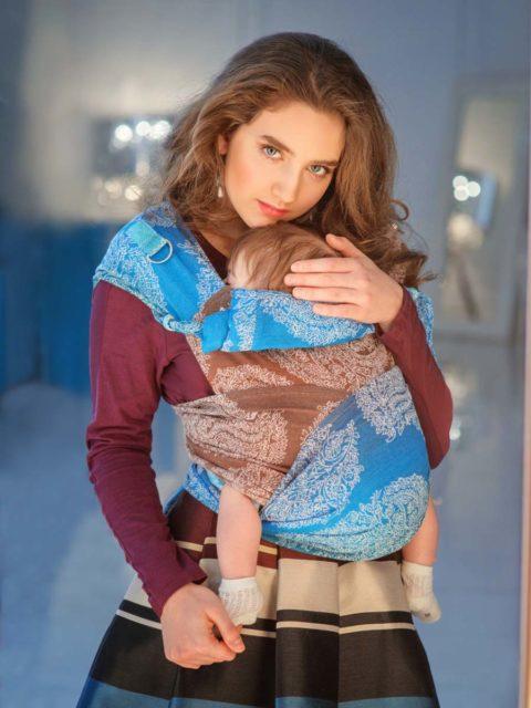 Май слинг для новорожденных Diva Essenza Oceano image 1