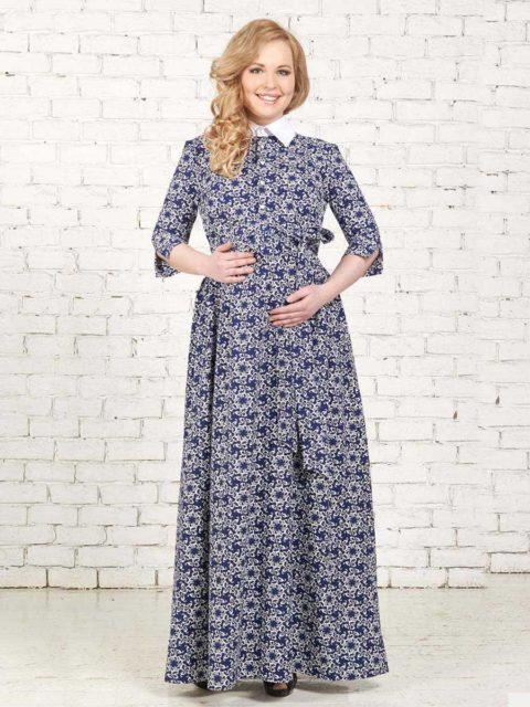 Платье для беременных и кормящих мам Фальконара B1515 image 1