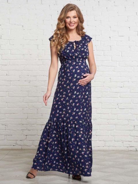 Платье для беременных и кормящих мам Витербо B1524 image 1