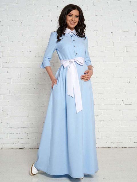 Платье для беременных и кормящих мам Аквапезе B1633 image 1