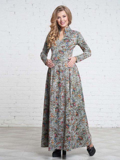 Платье для беременных и кормящих мам Маритино B1651 image 1
