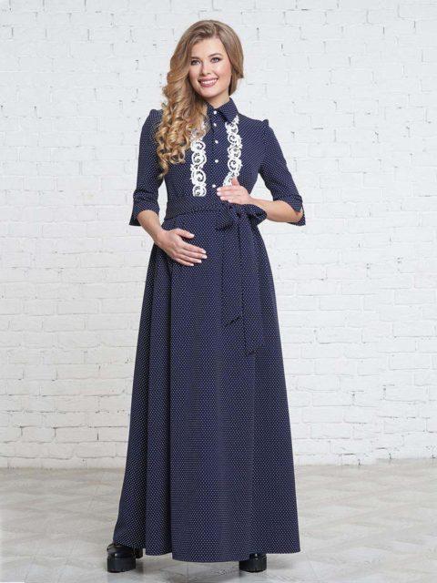 Платье для беременных и кормящих мам Ровиго B1701 image 1