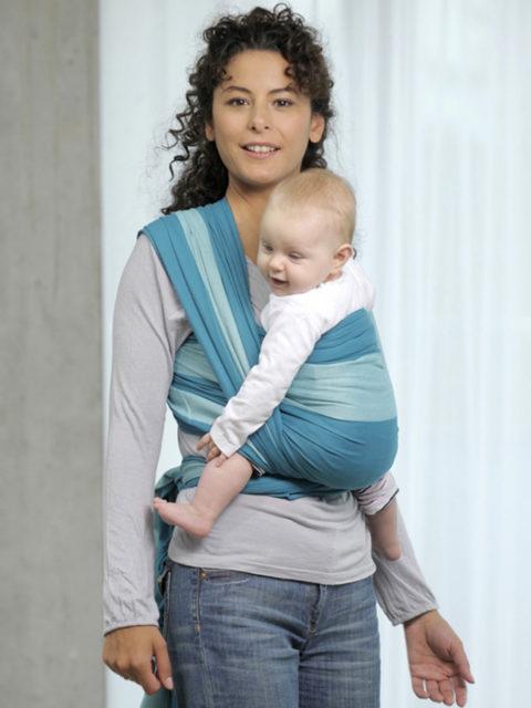Слинг шарф для новорожденных Amazonas Carrageen