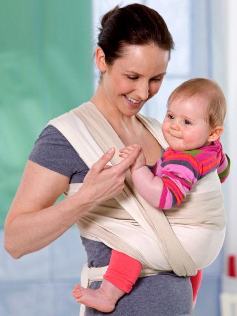 0fccdac41601 Купить слинг-шарф для новорожденных Amazonas Pacific L, длина 5 ...