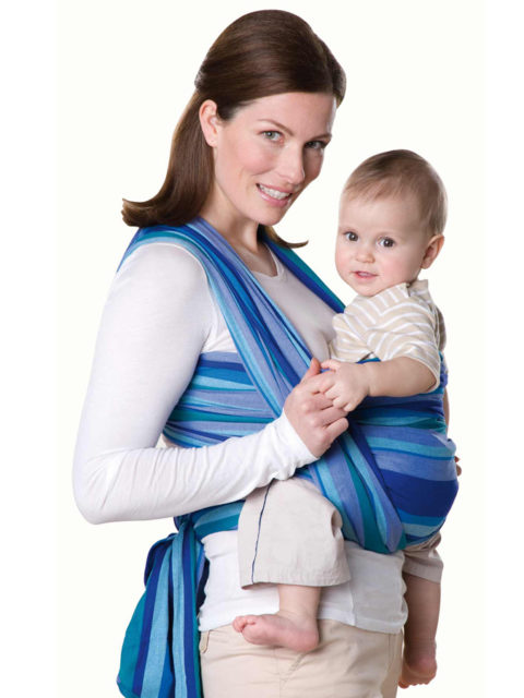 Слинг шарф для новорожденных Amazonas Laguna