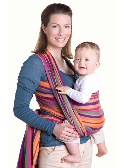 Слинг шарф для новорожденных Amazonas Lollipop