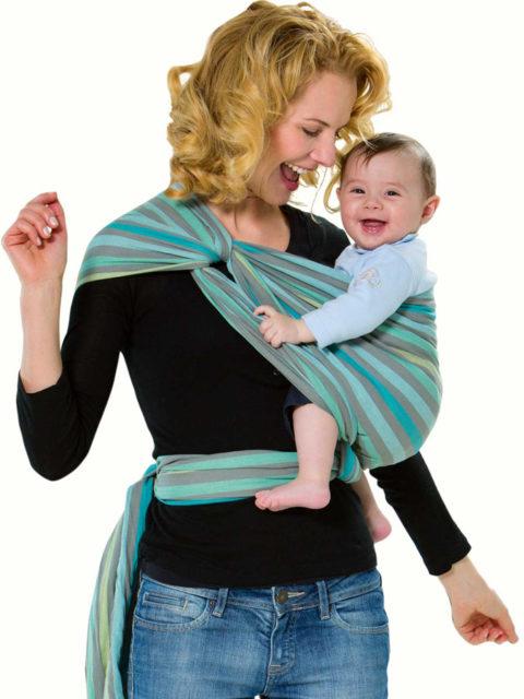 Слинг шарф для новорожденных Amazonas Pacific