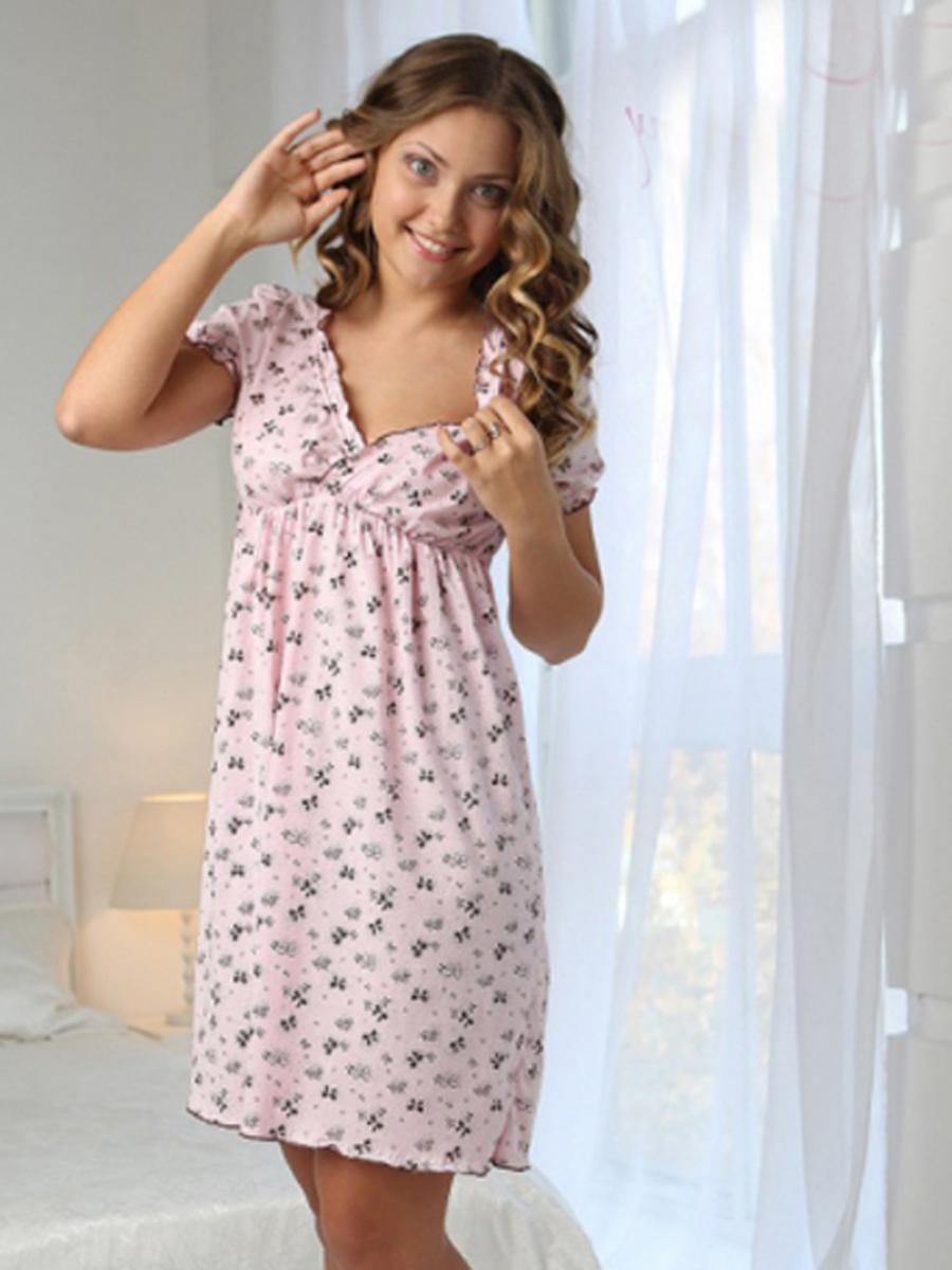 34875eed5f85 Комплект для роддома халат и сорочка Kelly кофе, рукав 3/4 купить в ...