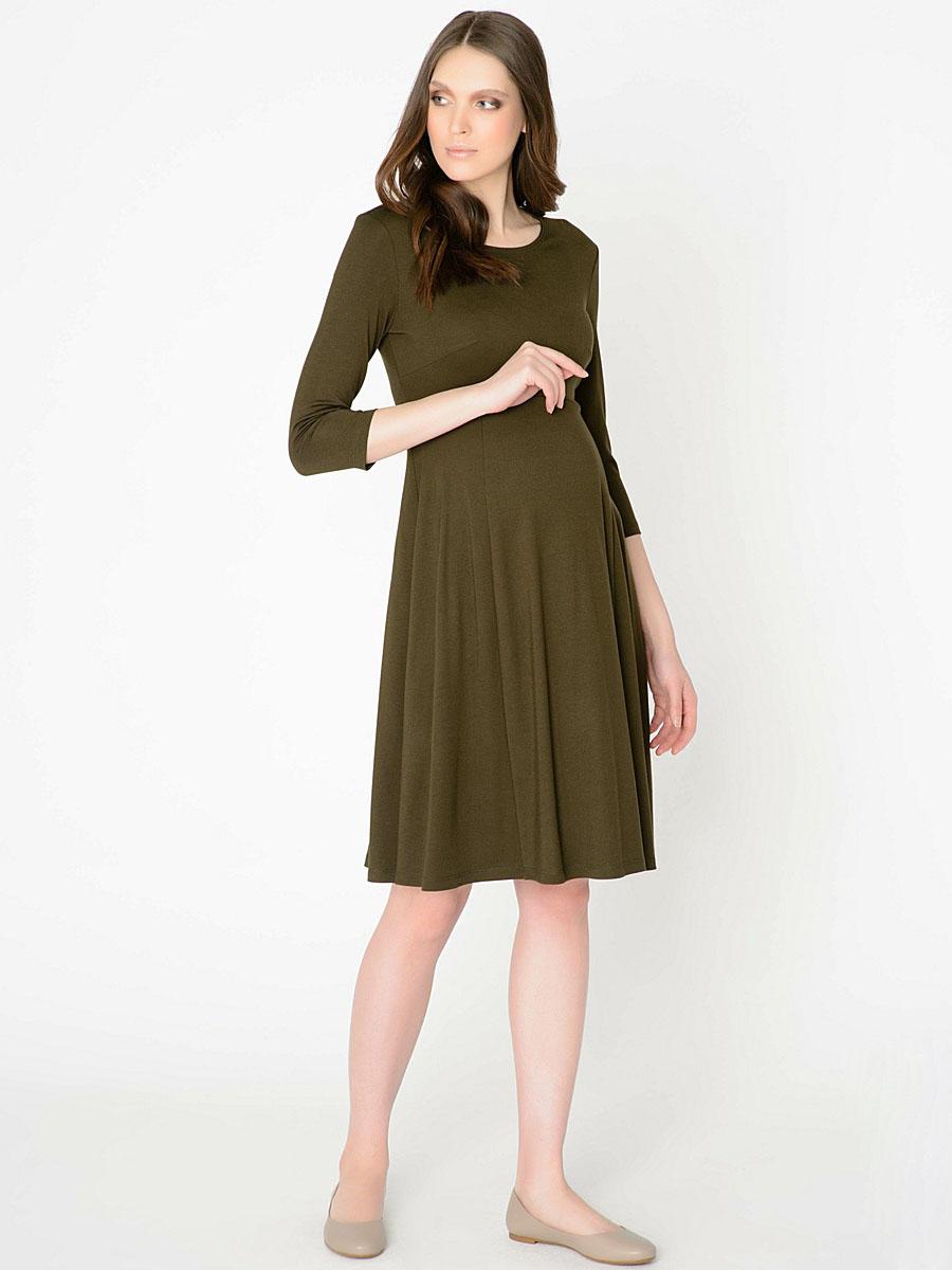 fb84bb2e0ca Платье для беременных Violetta зелёное - одежда для беременных ...
