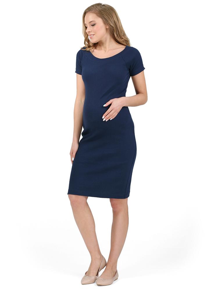 Платье для беременных Хлоя темно-синий - одежда для беременных ... 1b4e0d9534a