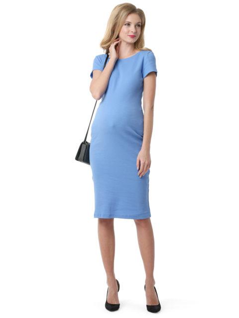 Платье для беременных Одри деним-img1