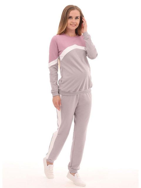 Спортивный костюм для беременных Лаванда-img1