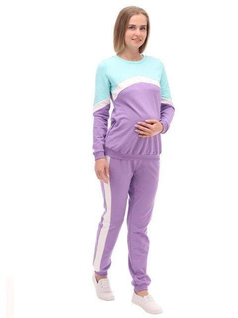 Спортивный костюм для беременных Лилак-img1