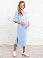 Платье рубашка для беременных