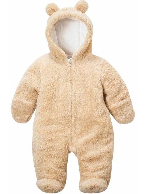 Комбинезон для новорожденных Плюшевый мишка бежевый image1