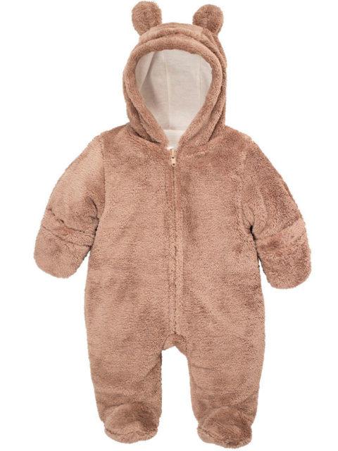 Комбинезон для новорожденных Плюшевый мишка какао, image1