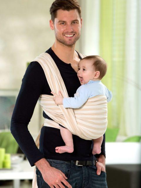 Слинг-шарф для новорожденных Amazonas Sahara image2
