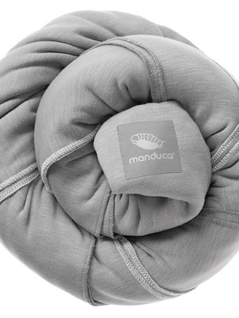 Слинг-шарф трикотажный Manduca sling light-grey