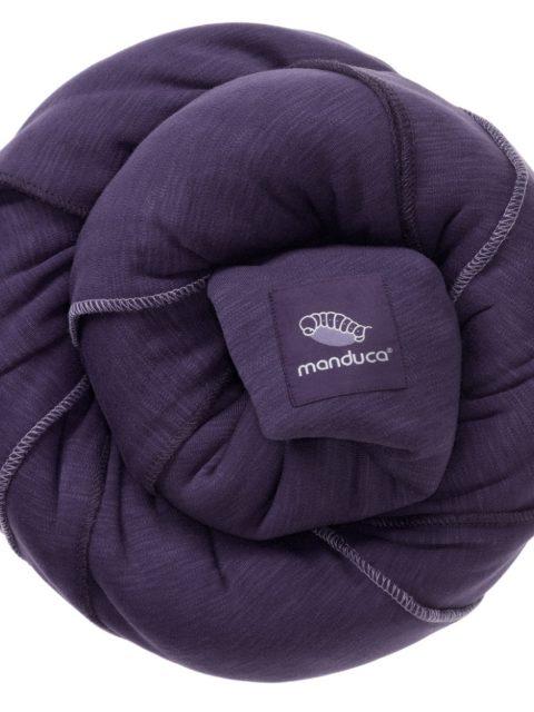 Слинг-шарф трикотажный Manduca sling purpl