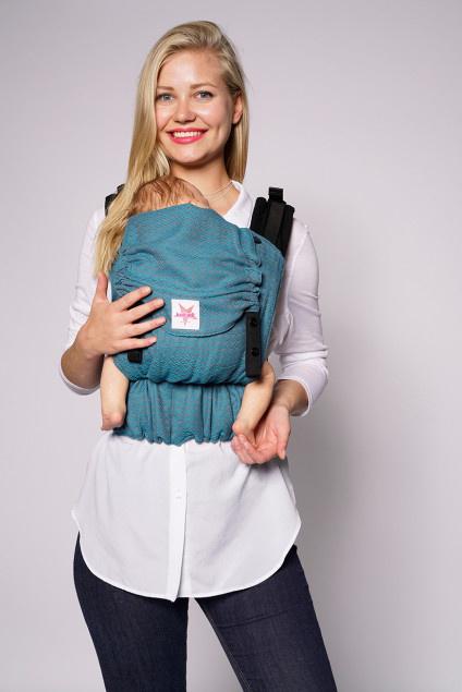 Эрго-рюкзак для новорожденных, слинг-рюкзак Kokadi Flip Heart2Heart Lagoon image1