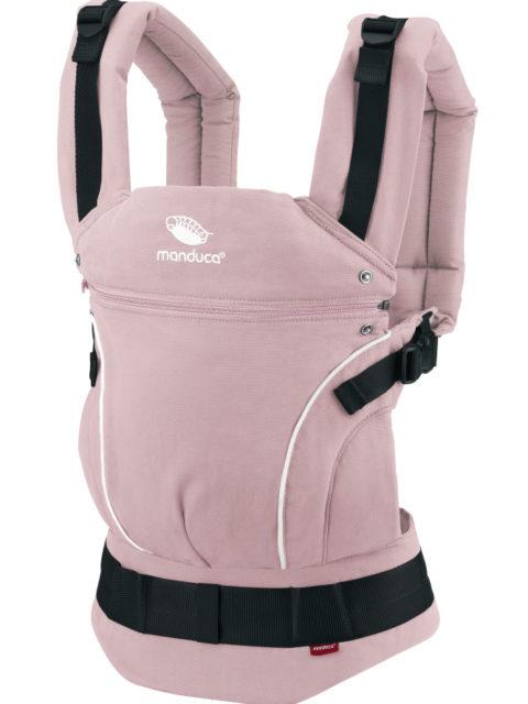 Эрго-рюкзак для новорожденных, слинг-рюкзак Manduca Pure Cotton rose image2