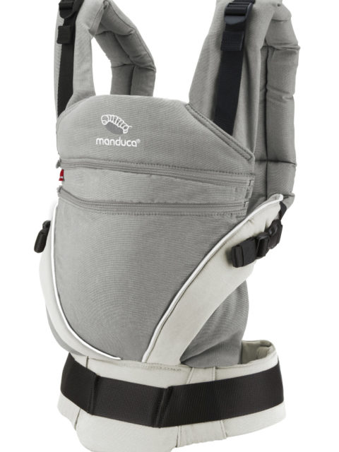Эрго-рюкзак для новорожденных, слинг-рюкзак Manduca XT grey-white image2