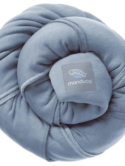 Слинг-шарф трикотажный Manduca skyblue