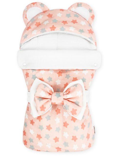 Конверты на выписку для новорожденных «Мишка» Микс розовый