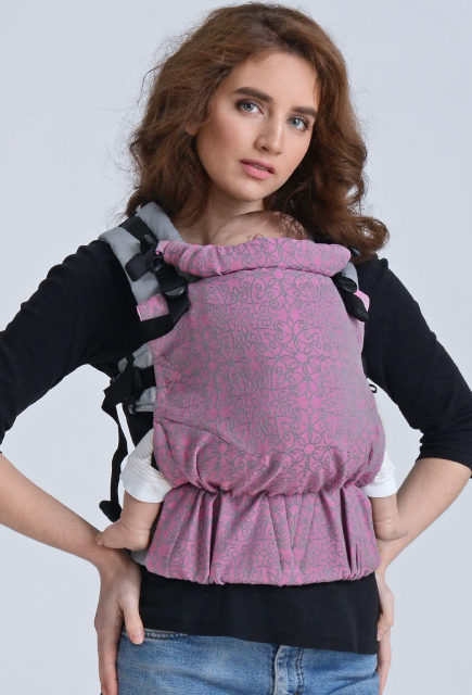 Эрго-рюкзак для новорожденных Diva Basico Simple One! Perla