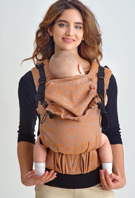 Эрго-рюкзак с рождения Diva Basico Canarino One!