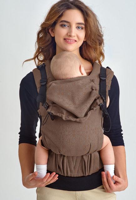 Эрго-рюкзак с рождения Diva Basico Canela One!