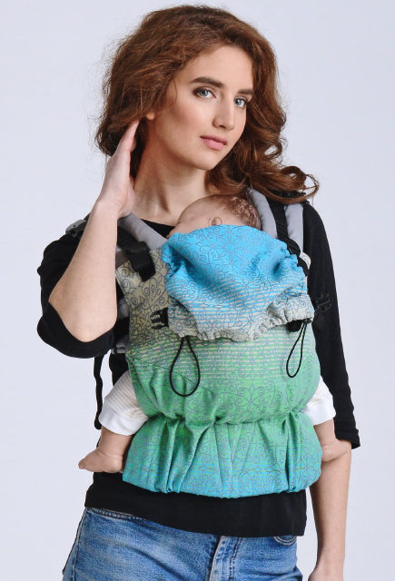 Эрго-рюкзак для новорожденных Diva Basico Simple One! Berillo
