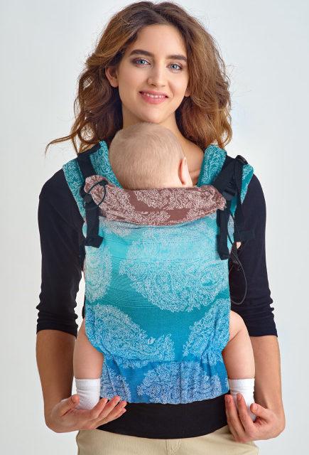 Эрго-рюкзак для новорожденных Diva Essenza Simple One! Oceano