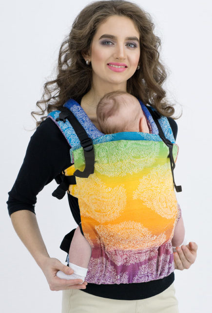 Эрго-рюкзак для новорожденных Diva Essenza Simple One! Tropico