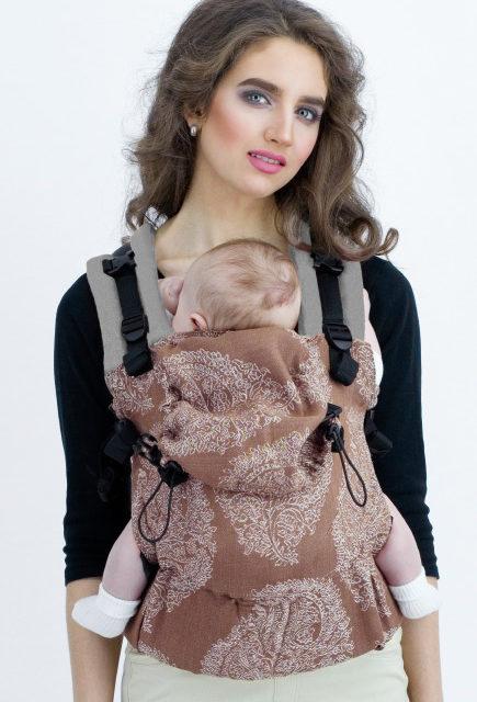 Эрго-рюкзак для новорожденных Diva Essenza Simple One! Moka