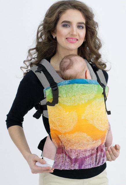 Эрго-рюкзак для новорожденных Diva Essenza One! Tropico