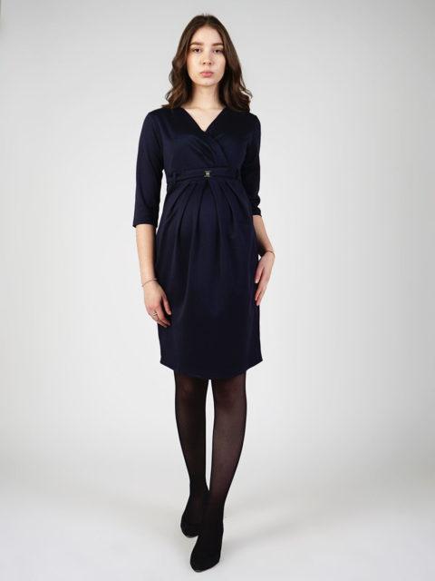 Платье для беременных Селена, индиго