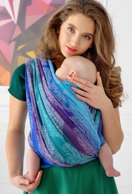 Слинг-шарф для новорожденных Diva Essenza Fantasia