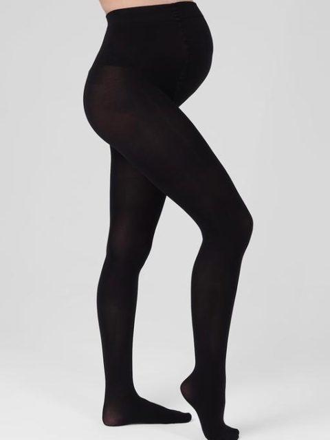 Колготки для беременных 300 den, черный