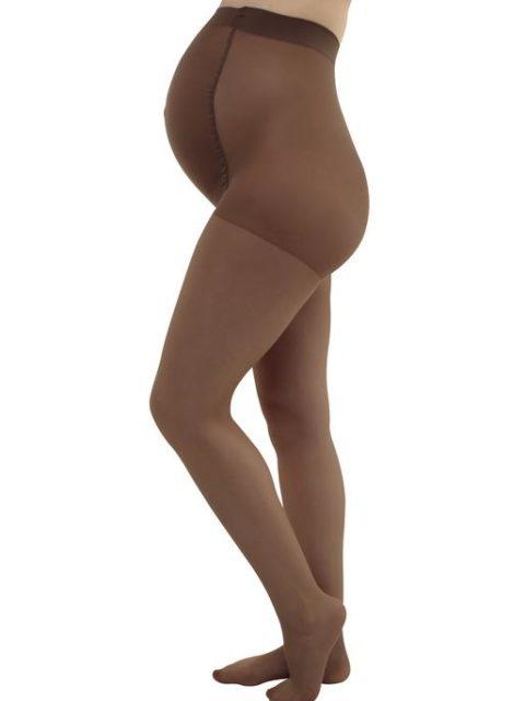 Колготки для беременных ILove, с мультифиброй 40 den, загар