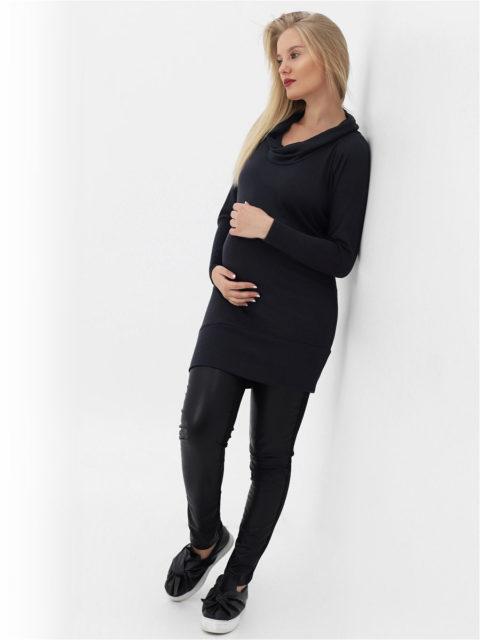 Туника для беременных и кормящих Лекси, графит
