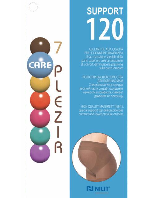 Колготки для беременных Support 120 den, мокко (темно-коричневый)
