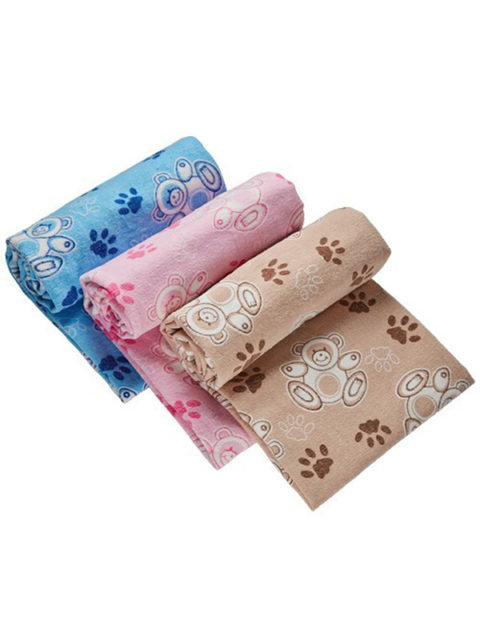 """Одеяло байковое для новорожденных """"Мишки"""" размер 98х138 см."""