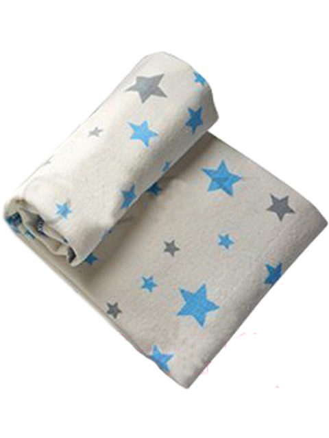 """Одеяло байковое для новорожденных """"Звездочки"""" размер 98х138 см."""