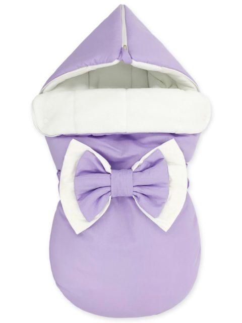 """Зимний конверт для новорожденных на выписку """"Lilac-light"""""""