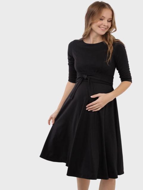 Платье для беременных и кормящих Талия, черный