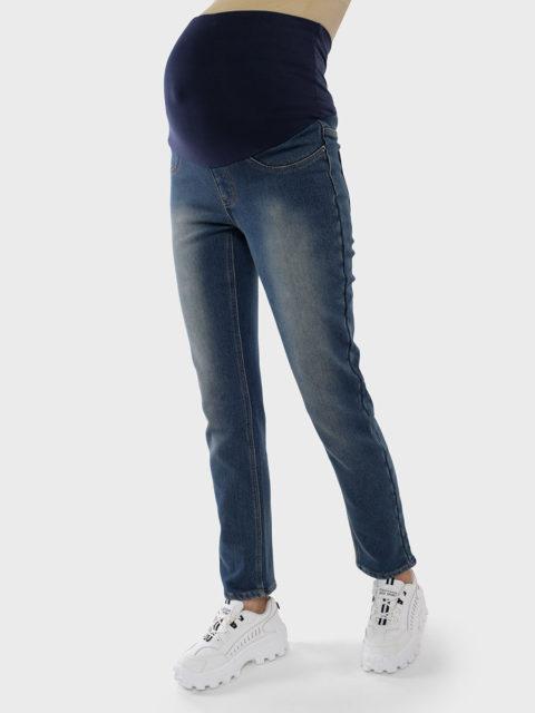 Утепленные прямые джинсы для беременных Роджер, деним