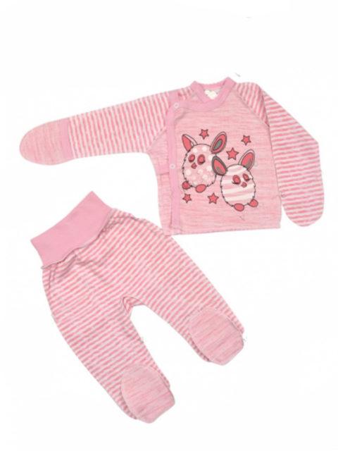 Комплект одежды для новорожденных Amelli Чудики, розовый